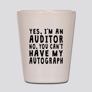 Auditor Autograph Shot Glass