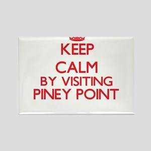 Keep calm by visiting Piney Point Massachu Magnets
