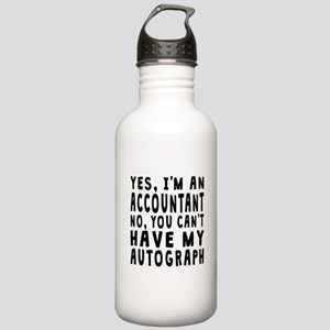 Accountant Autograph Water Bottle