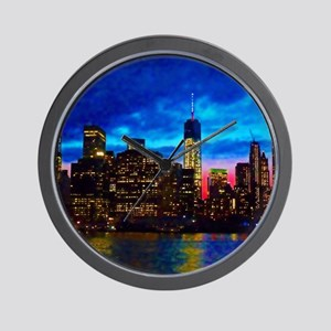 REFLECTIONS OF THE CITY Wall Clock