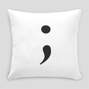 Semi Colon Everyday Pillow