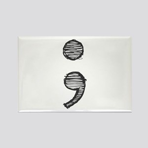Semi Colon (Handdrawn) Magnets