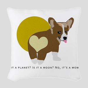 It's a momo Woven Throw Pillow