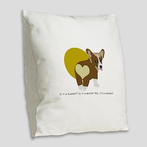 It's a momo Burlap Throw Pillow