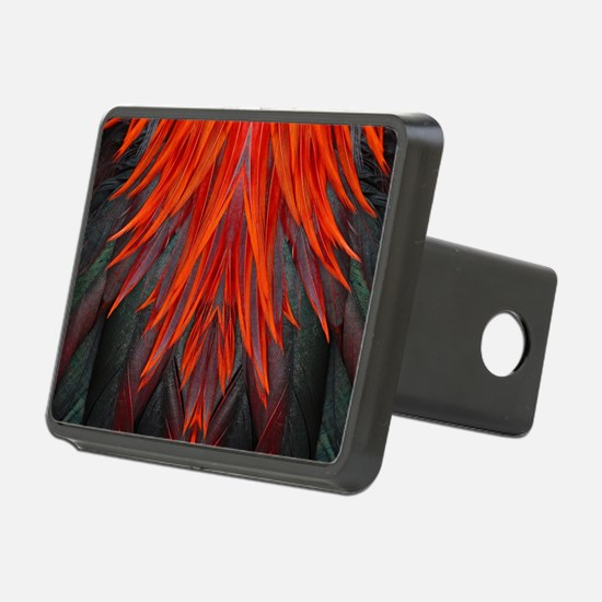 Abstract Feathers Hitch Cover