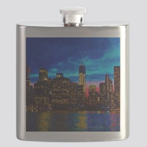 REFLECTIONS OF THE CITY Flask