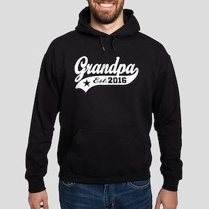 Grandpa Est. 2016 Hoodie (dark)