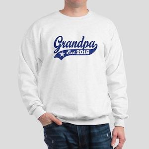 Grandpa Est. 2016 Sweatshirt