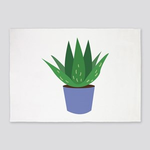 Aloe Plant 5'x7'Area Rug