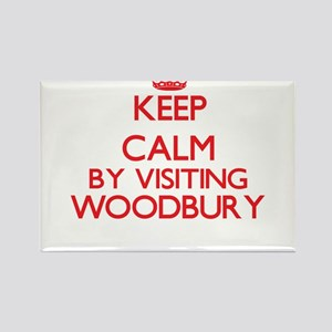 Keep calm by visiting Woodbury Massachuset Magnets
