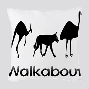 Walkabout Woven Throw Pillow