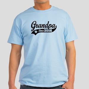 Grandpa Since 2016 Light T-Shirt