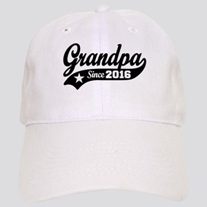 Grandpa Since 2016 Cap