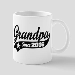 Grandpa Since 2016 Mug