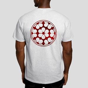 Samurai Crest T-Shirt - Red Aoi