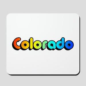 colorful colorado Mousepad