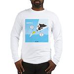 Fish vs Bird Long Sleeve T-Shirt