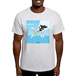 Fish vs Bird Light T-Shirt