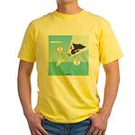 Fish vs Bird Yellow T-Shirt
