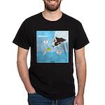 Fish vs Bird Dark T-Shirt