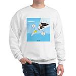 Fish vs Bird Sweatshirt