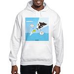 Fish vs Bird Hooded Sweatshirt