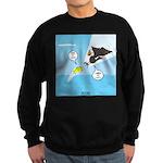 Fish vs Bird Sweatshirt (dark)