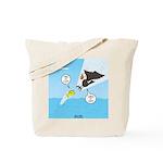 Fish vs Bird Tote Bag