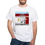 Hiring All Shifts White T-Shirt