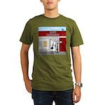 Hiring All Shifts Organic Men's T-Shirt (dark)