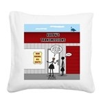 Hiring All Shifts Square Canvas Pillow