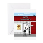 Hiring All Shifts Greeting Cards (Pk of 20)