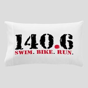 140.6 Swim Bike Run Pillow Case