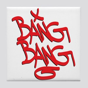 Bang Bang Tile Coaster