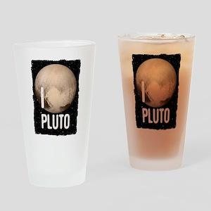 I Cardiac Pluto Drinking Glass