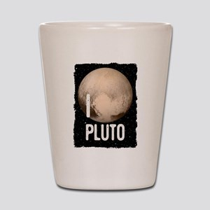 I Cardiac Pluto Shot Glass