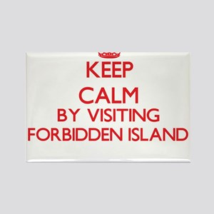 Keep calm by visiting Forbidden Island Nor Magnets