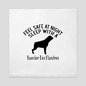 Sleep With Bouvier des Flandres Dog De Queen Duvet