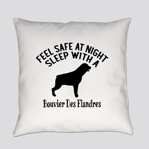 Sleep With Bouvier des Flandres Do Everyday Pillow