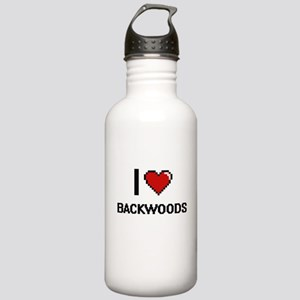 I Love Backwoods Digit Stainless Water Bottle 1.0L