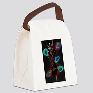 Atomic Time Canvas Lunch Bag