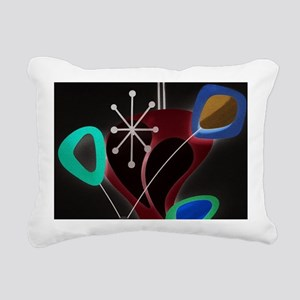 Atomic Time Rectangular Canvas Pillow