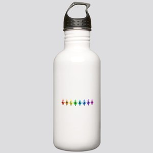 colorado diamonds Water Bottle