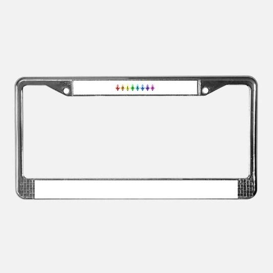 colorado diamonds License Plate Frame