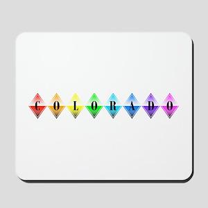 colorado diamonds Mousepad
