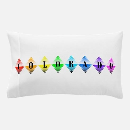 colorado diamonds Pillow Case