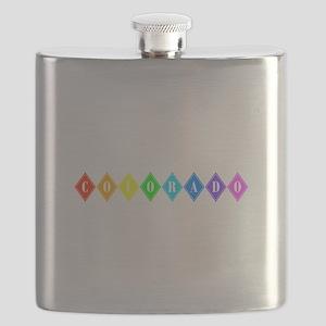 colorado rainbow diamonds Flask