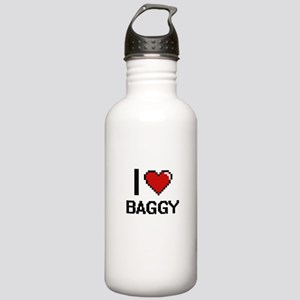 I Love Baggy Digitial Stainless Water Bottle 1.0L