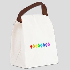 colorado rainbow diamonds Canvas Lunch Bag