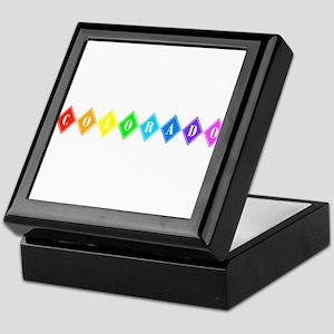 colorado rainbow diamonds Keepsake Box